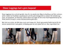 Laden Sie das Bild in den Galerie-Viewer, FRAU RIEKE & RIEKE • Leggings im Partnerlook, e-book Kombi
