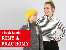 Laden Sie das Bild in den Galerie-Viewer, FRAU ROMY & ROMY - Rollkragenshirts im Partnerlook, ebook
