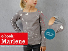 Laden Sie das Bild in den Galerie-Viewer, MARLENE • Shirt, e-book