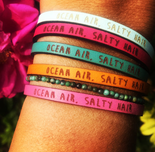 Bracelet OCEAN AIR SALTY HAIR