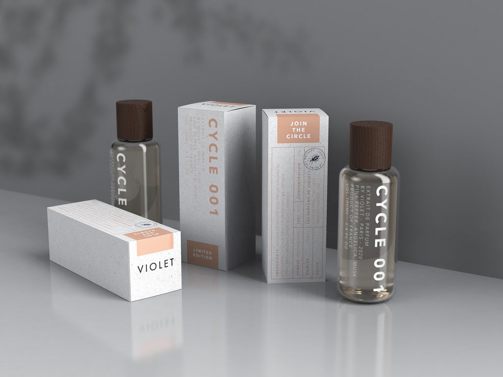 Cycle 001 limited edition fragrance