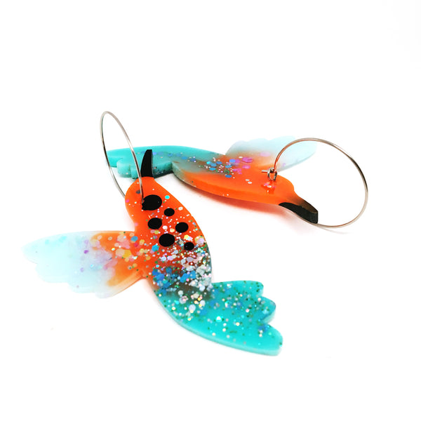 Resin · Hummingbird Hoops · 1