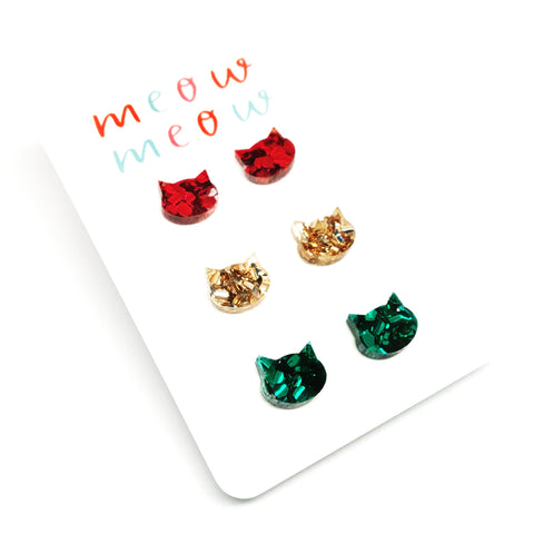 MEOW Stud Pack · Festive Mix