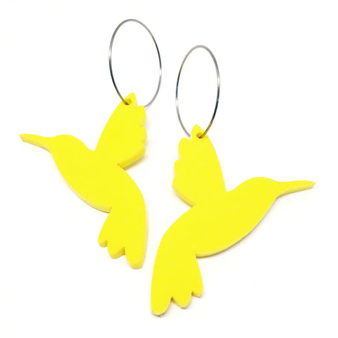 Hummingbird Hoop · Sunshine Yellow