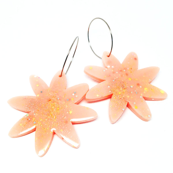 Tropical Bloom · Apricot