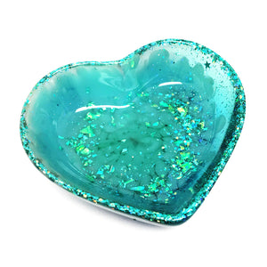 Resin Trinket Bowl · 'i heart you' · SECONDS