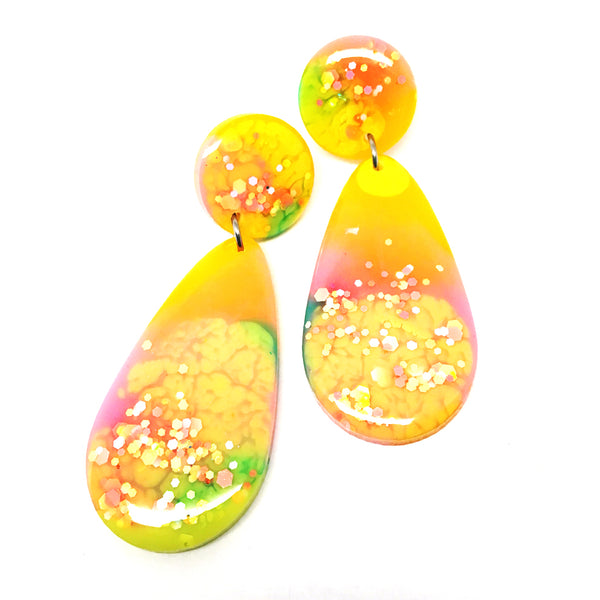 Raindrop Dangle · Yellow