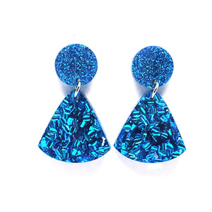 Tassel Dangles · Blue Mix