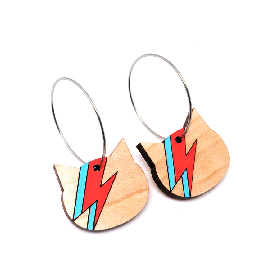 Ziggy Hoop Earrings