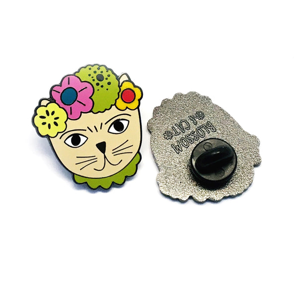Frida Catlo Pin · Yellow
