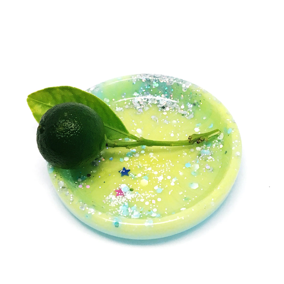 Tiny Ring Dish · Lime