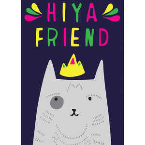 Greeting Card · Hiya Friend