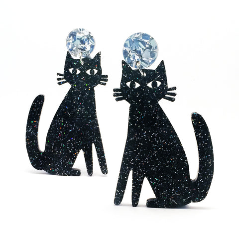 Spooky Cats · Black