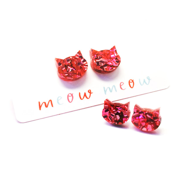 Fancy Cat Stud · Hot Pink