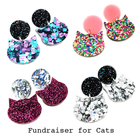 Meow Drop · Choose Your Colour · Fundraiser for Cats