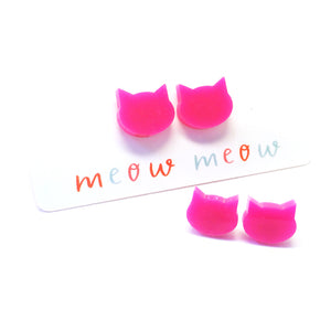 Cat Stud · Hot Pink