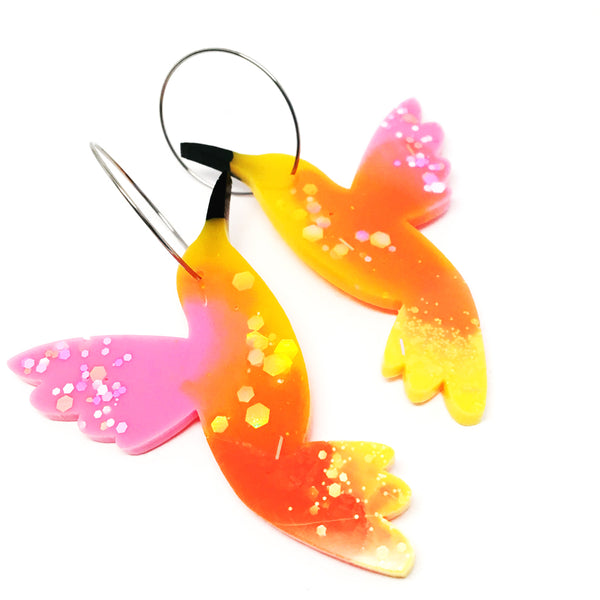 Hummingbird Hoops · 4