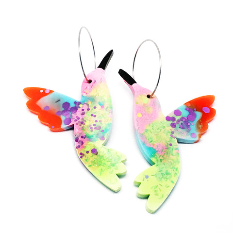 Hummingbird Hoops · Multi