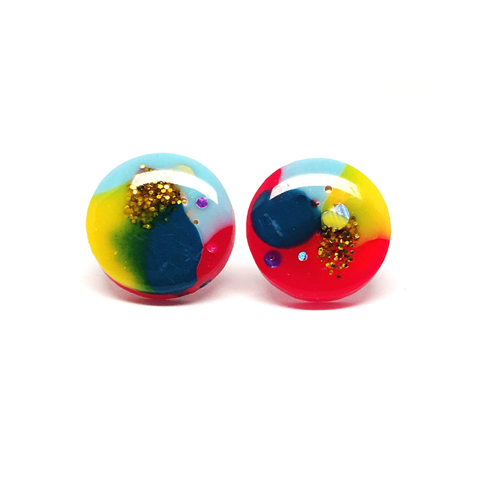 Resin Stud · Medium · 16mm · 5
