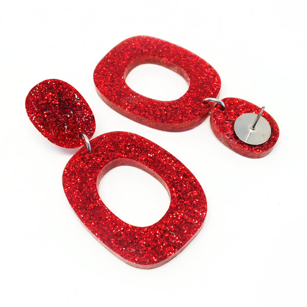 Mini Dangle · Lets Dance · Red
