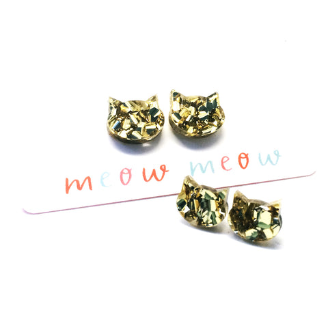 Fancy Cat Stud · Gold