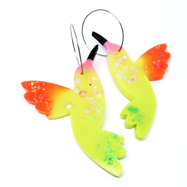 Hummingbird Hoops · 6