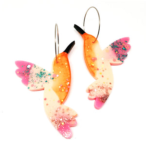 Resin · Hummingbird Hoops · 7