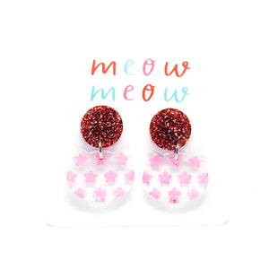 Meow Drops · Painted Flowers · Pink