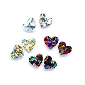 'I heart you' Fancy Stud · Choose your Colour