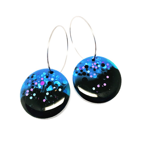 Mini Moondrops · Black + Blue