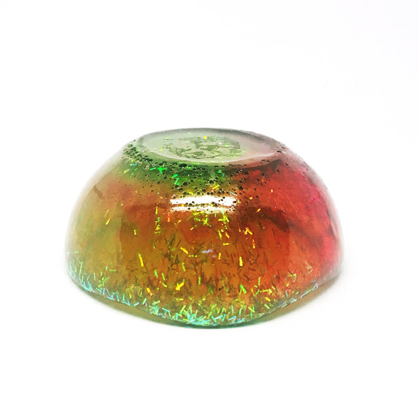 Resin Trinket Bowl · Tiny Organic · Green
