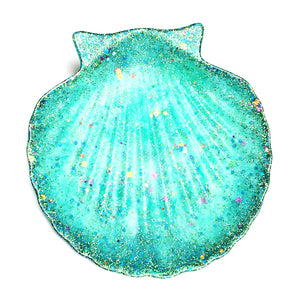 Resin Bowl · Shell Dish · Turquoise