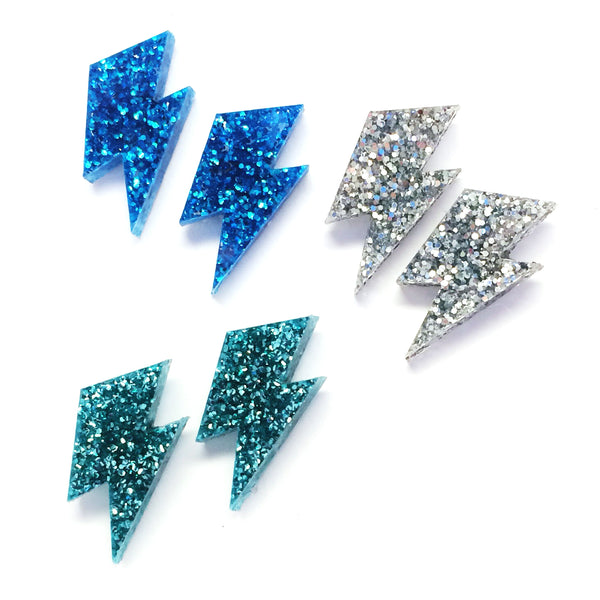 'Wam Bam' Mini Bolt Stud · Choose your Colour