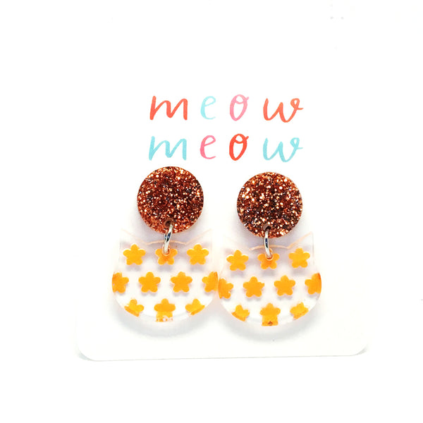 Meow Drops · Painted Flowers · Marigold