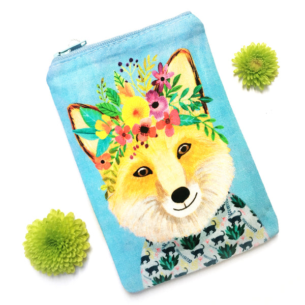 Coin Purse · Woodland Collection · Fox