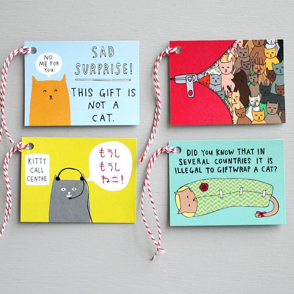 Kitty Gift Tags · Pack of 8