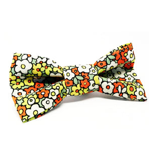 Cat Bow · Lime Flowers