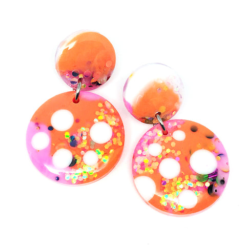 Resin · Mini Moondrop · Pinky Apricot Dot