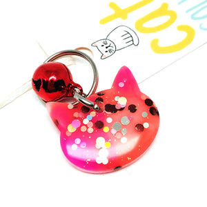 Cat Collar Charm · Resin Cat · 8