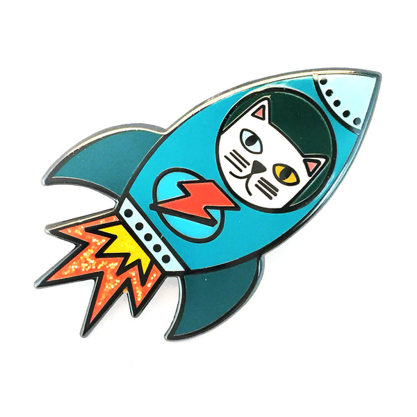 Space Cat Pin