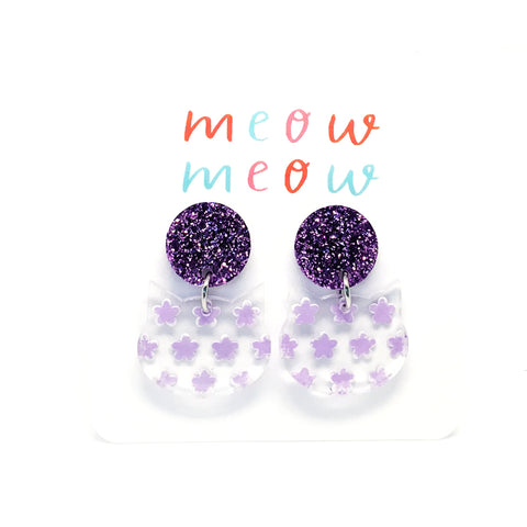 Meow Drops · Painted Flowers · Lilac