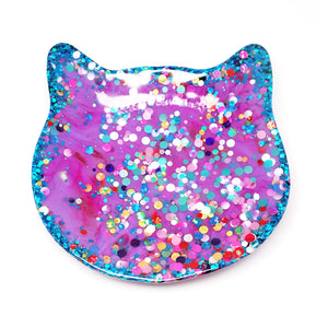 Crazy Cat Lady Trinket Dish · Purple