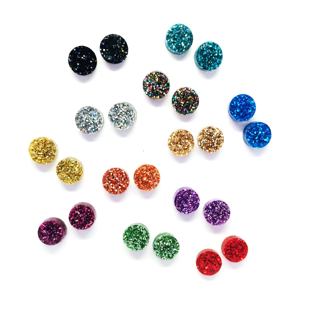 Tiny Glitter Dots · Choose your Colour
