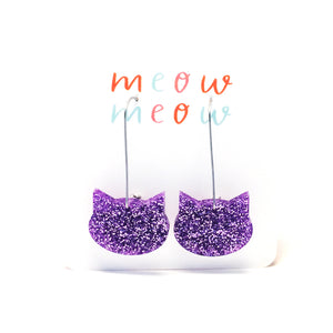 Cat on a Wire · Lilac Glitter