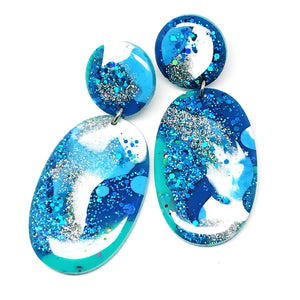 Resin Dangle · Boom! · Blue
