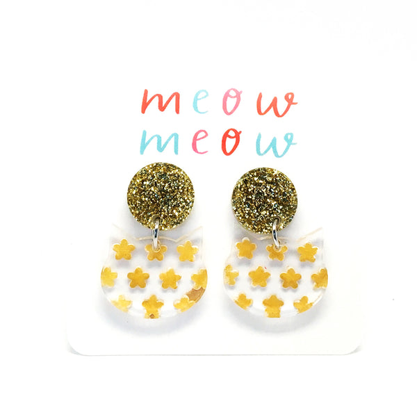 Meow Drops · Painted Flowers · Mustard