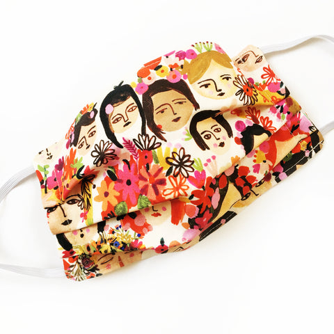 Face Mask · Floral Ladies · Medium Adult