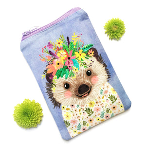 Coin Purse · Woodland Collection · Hedgehog