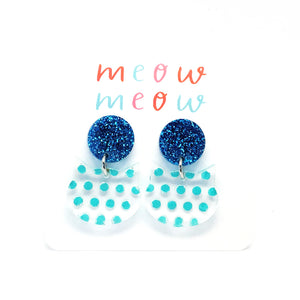 Meow Drops · Painted Dots · Blue