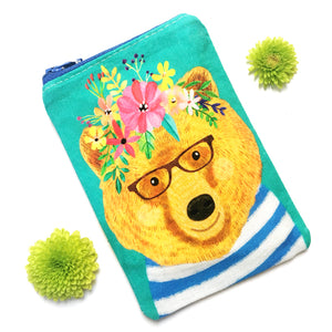 Coin Purse · Woodland Collection · Bear
